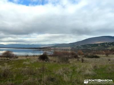 Ruta Turrón y Polvorón - Embalse Pinilla; grupos amigos madrid ambar viajes montes de leon mapa